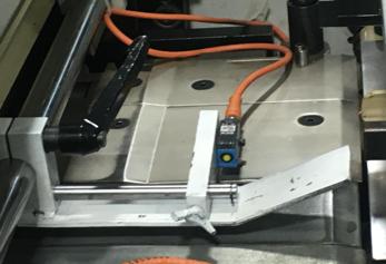 支架和探头安装示意图